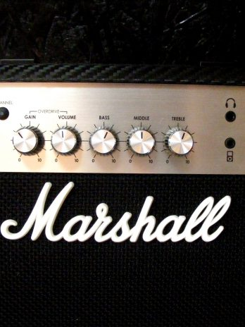 Marshall-Amplificator Chitara