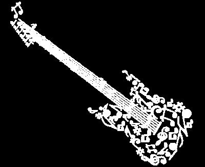 ghitara din note